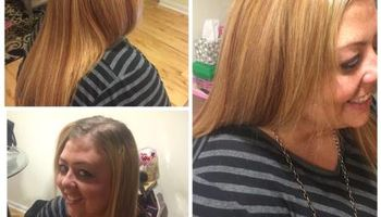Healthy Hair Stylist.  Blow Outs, Cond. Treatments, Weaves & MORE!