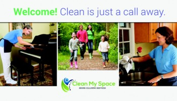 Clean My Space - residential and commercial cleaning