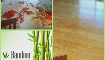 Hardwood floors   Laminate    SANDING