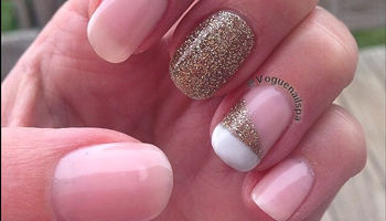 Vogue Nail Spa. Gel Manicure $38!