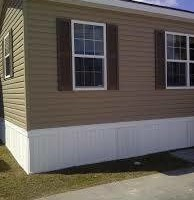 Mobile home Vinyl skirting installation