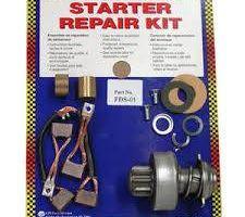 Rebuild starter and alternator