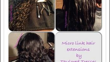 Hot/Cold Fusion Hair Extensions $75