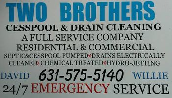 Cesspool pumping and drain cleaning