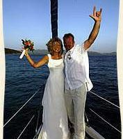 Celebrate WEDDINGS TO BIRTHDAYS ON A PRIVATE SAILING YACHT