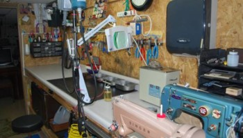 Sewing machine tune up service