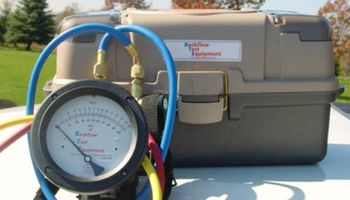 NYS Certified Backflow Testing $49.95