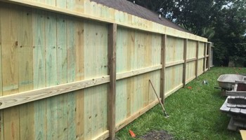 Need a fence? $10/ft & up.