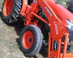 Tractor shredding