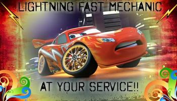 Lightning Fast Mechanic!