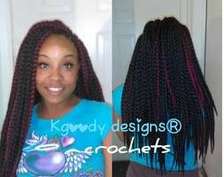 CROCHETS ANY STYLE 2HRS SIT TIME HAIR INCLUDED $85 FLAT