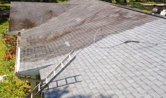 HYDRO WASH. Roof Cleaning Restoration