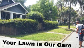 Your Lawn Our Care. Bi weekly cuts $20.00 -$40.00