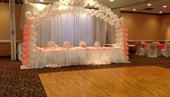 WEDDING DRESSES, EVENT PLANNER & PARTY RENTALS