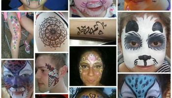 FACE painting, belly paintng and Henna