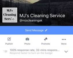 Cleaning! MJ's Cleaning Service