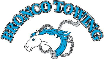Bronco Towing. Special shop rates!