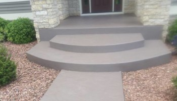 Concrete surfaces/Foundation crack injection