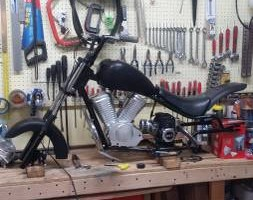 CHEAP MOTORCYCLE REPAIR (NOT PAINT)