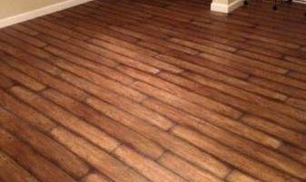 Wood / Laminate Flooring installation + Custom tile