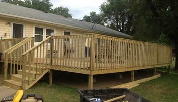 General Construction - decks, roofing, covered porches, window installation