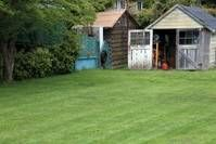 Weed mowing and weed spraying