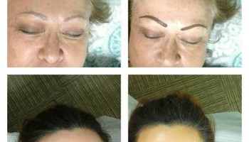 Permanent Makeup. Natural look Brow, Eyeline, Lip line