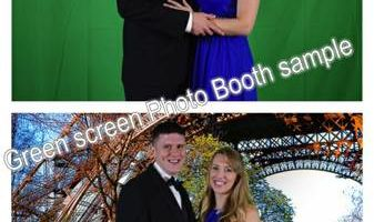 $300/2hrs Professional Photobooth Rental/Green...