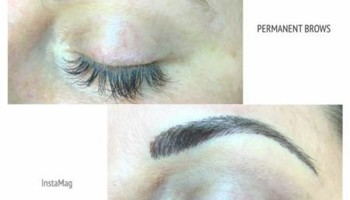 Microblading 3/D Permanent Make-up, tattoo.
