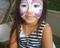 AWESOME FACE PAINT, henna, glitter tattoos!
