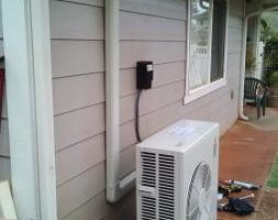 A/c install service and repair. HVAC / Air conditioning. Residential