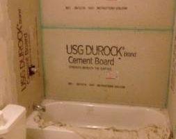 Ceramic tile installer - floors, tub surrounds, shower pans...