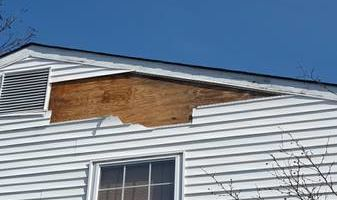 WIND SIDING/ROOF DAMAGE? Possible replacement 4 FREE