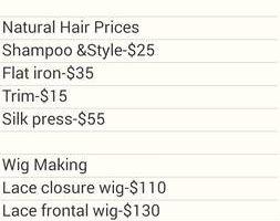Wigs, Weaves, Crochet Braids