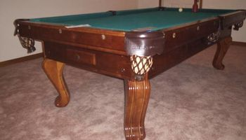Best Billiards Inc. Pool Table Moving, Recovering