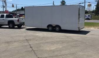 Enclosed Towing & hauling cars-boats-campers-equipment-cycles