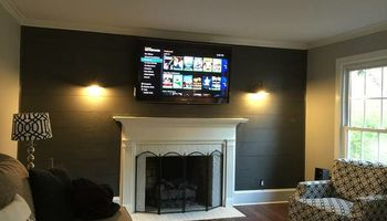We hang TV's, We hang Projectors. We wire surround sound systems