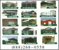 Metal carports garages steel buildings