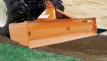 Ground leveling / Boxblade grading