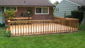 Want a new deck? Need yours fixed?