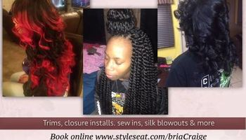 Get Your Hair Styled By Bri... EXPERIENCED STYLIST (Available TODAY!)