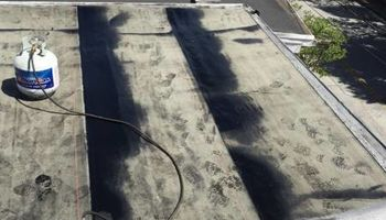Flattop Roofing/silver coating - emergency repairs