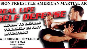 Adult Self Defense Classes - $19.99/Month Martial Arts. Fusion free style