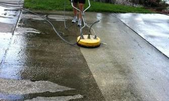 PRESSURE WASHING - DRIVEWAY POOL DECK MOLD AWAY