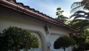 Seamless Rain Gutters. Installation, leaf guard and maintenance