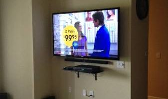 Rates Paul's Insulation. $85 TV Mounting & instillation