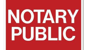 Certified Notary Public - $10 first page married certificate