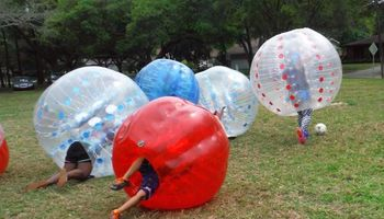 Bubble Ball Soccer games and equipment