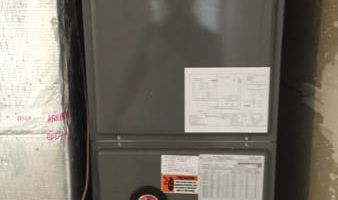 Avalon Air & Heating. New a/c units