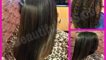 LILBURN SALON. $35 NATURAL HAIR / SILK PRESS